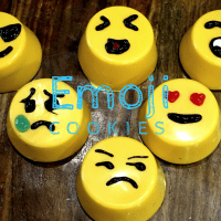 Emoji Inspired Cookies