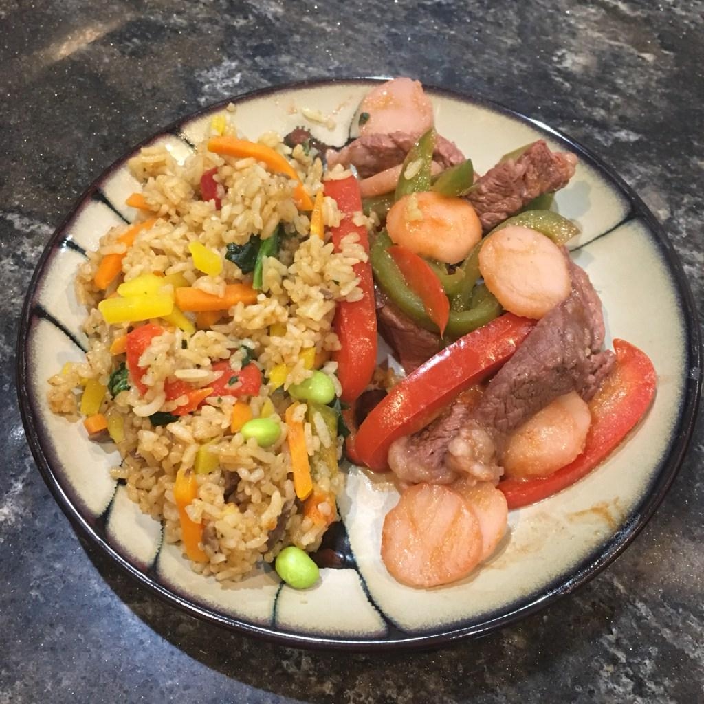 Ling Ling Bibimbap Beef Fried Rice