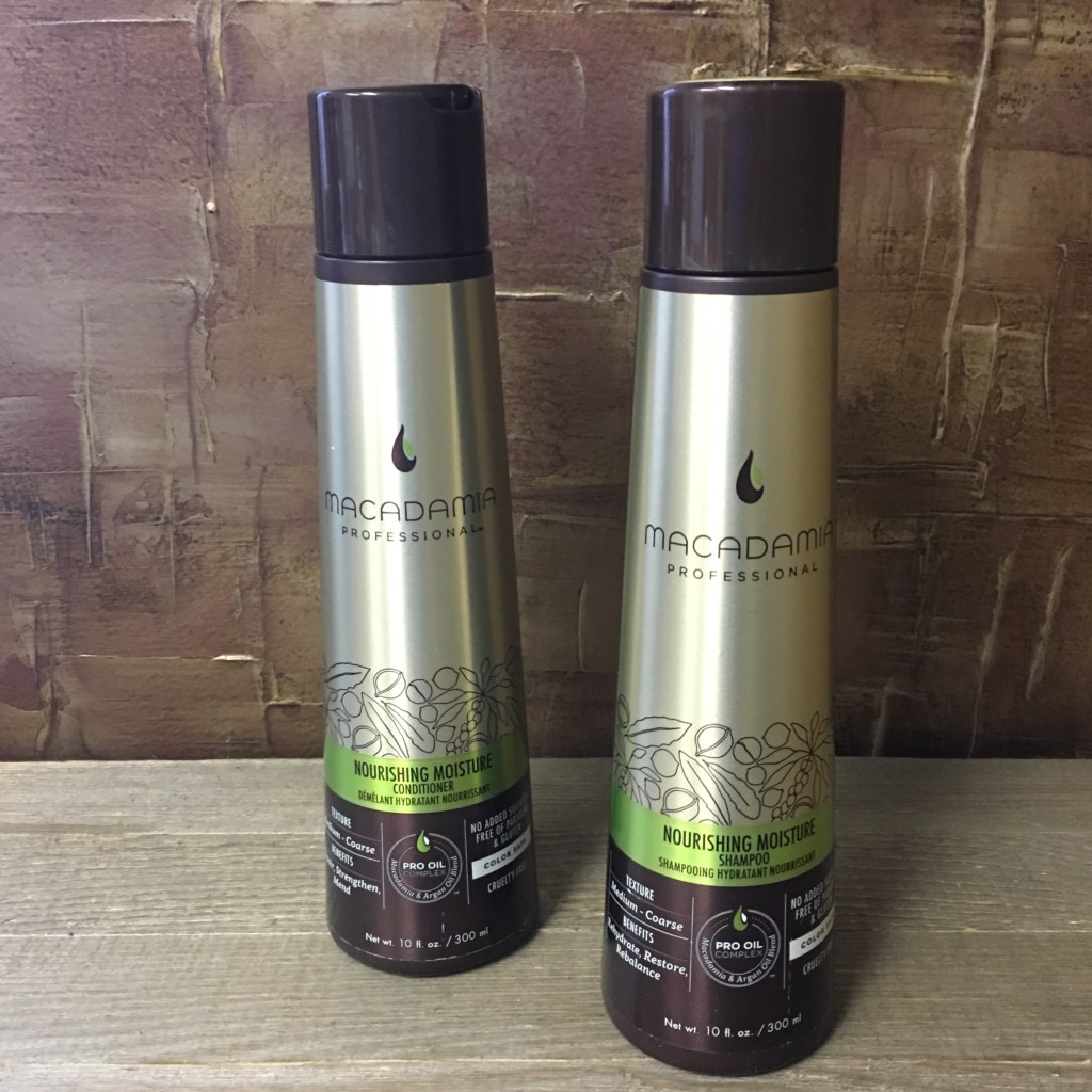macadamia shampoo and conditioner