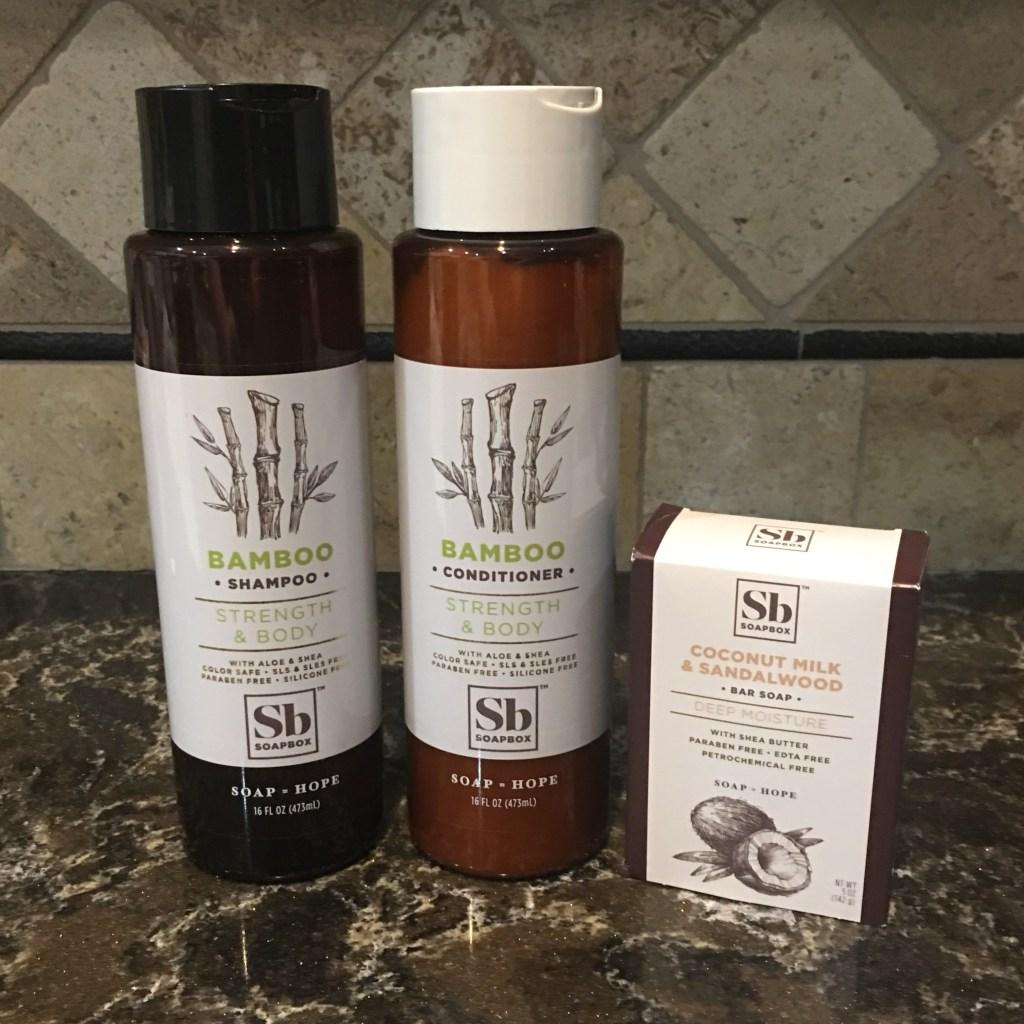 Soapbox Bamboo Shampoo