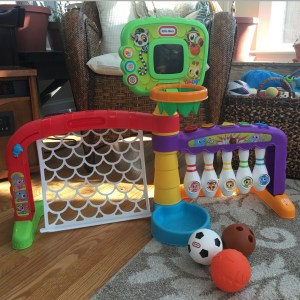 Bring Out the All-Star in Your Little with Little Tikes 3-in-1 Sports Zone