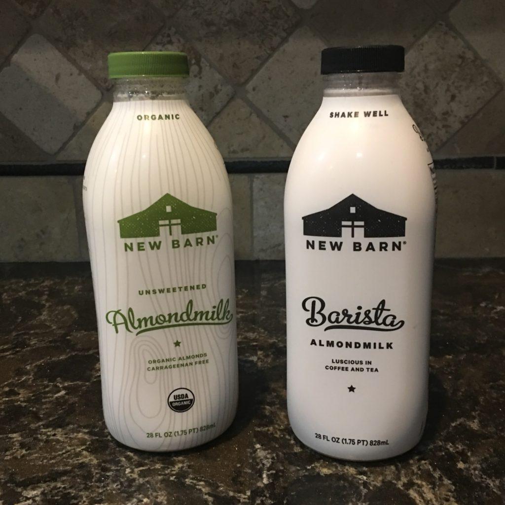 New Barn Organic Almond Milk