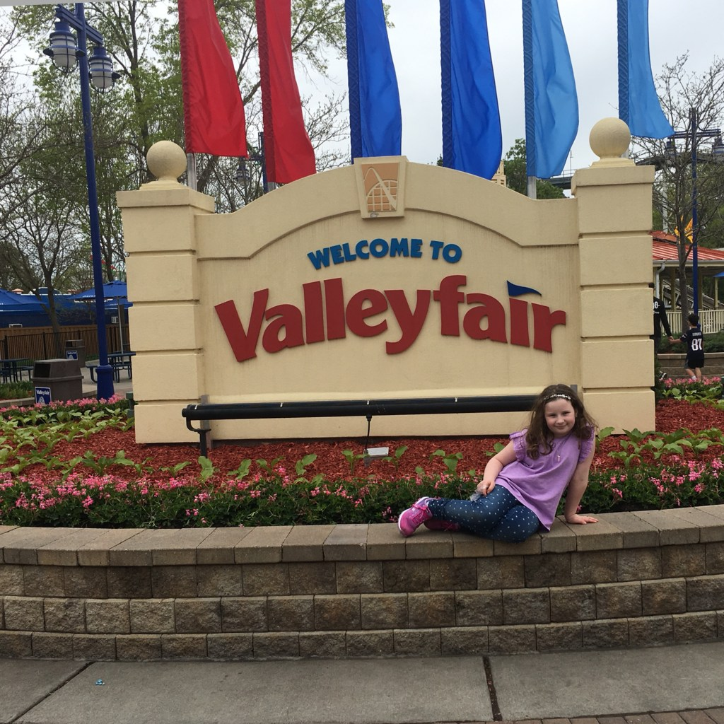 Valleyfair Welcome Sign