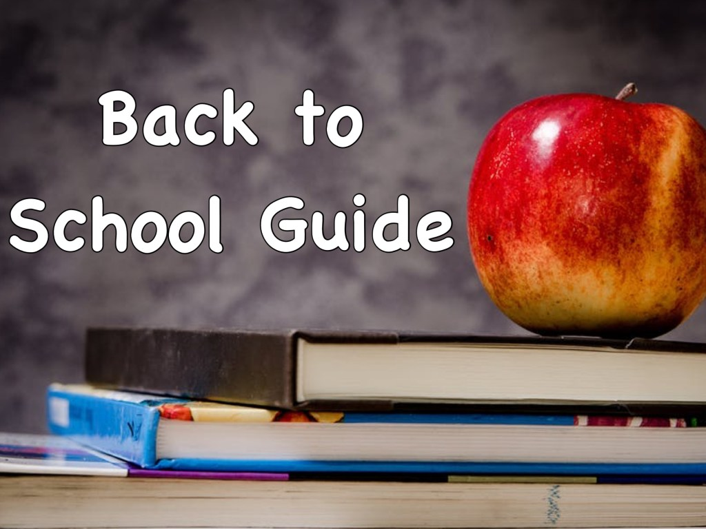 Back to School Guide 2018