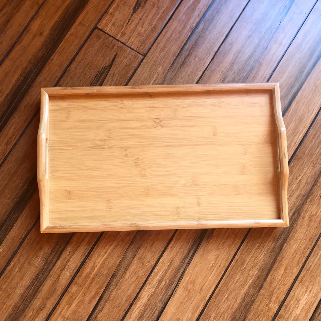 Bamboo Handle Tray
