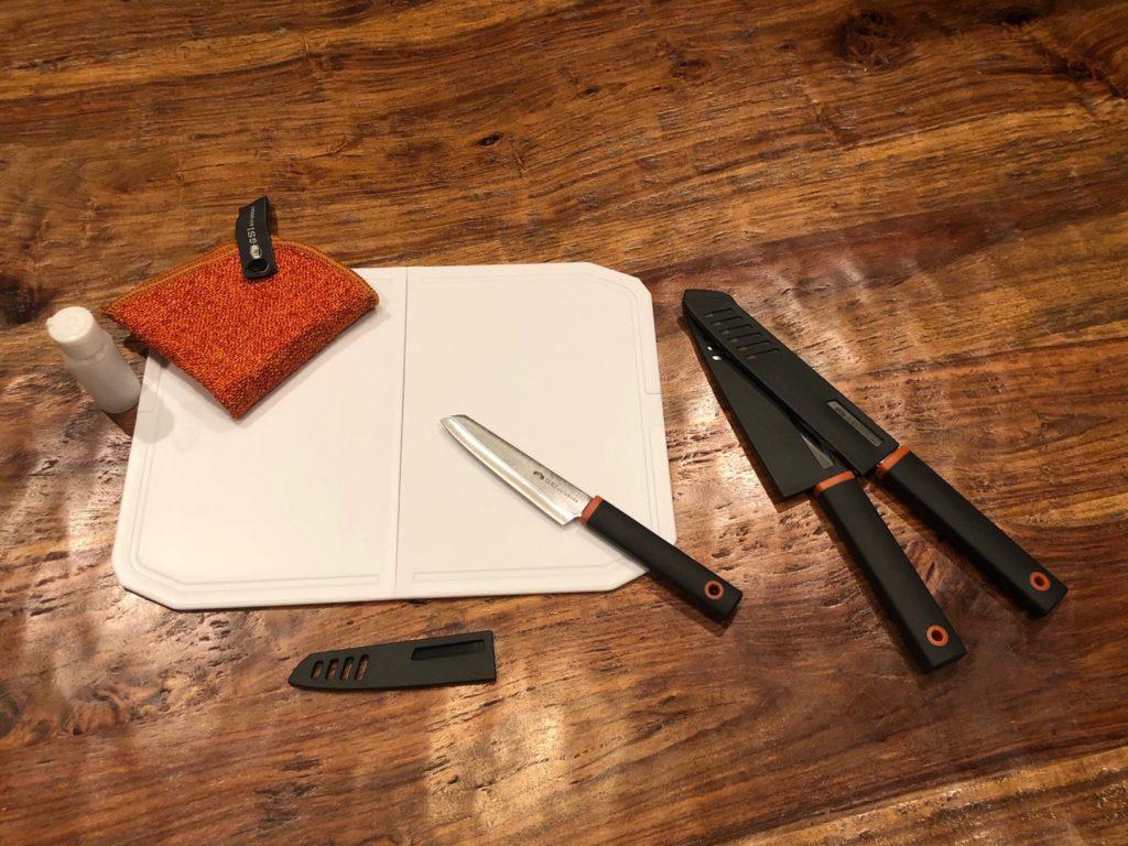 Santoku Knife Set Camping Essentials GSI Outdoors