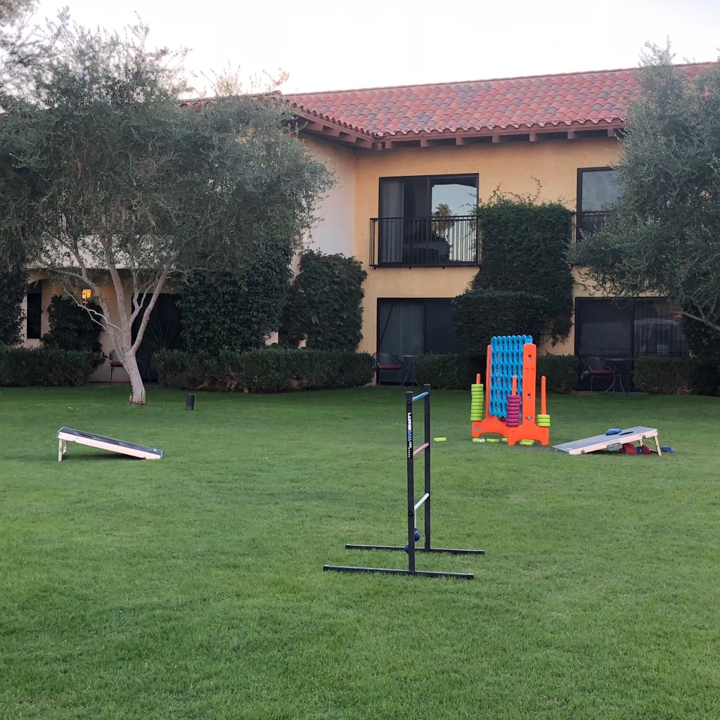 Yard Games at Miramonte Resort