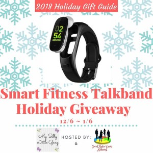 Smart Fitness Talkband Holiday Giveaway