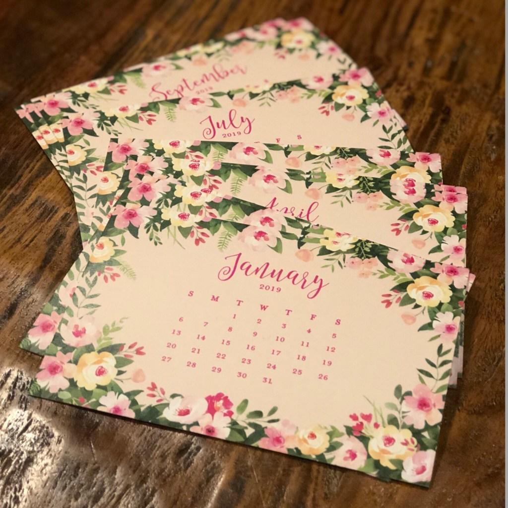 Digibuddha Desk calendar