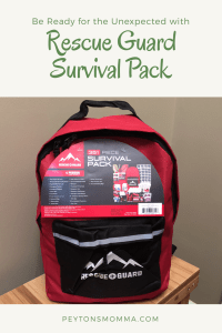 Rescue Guard Survival Pack