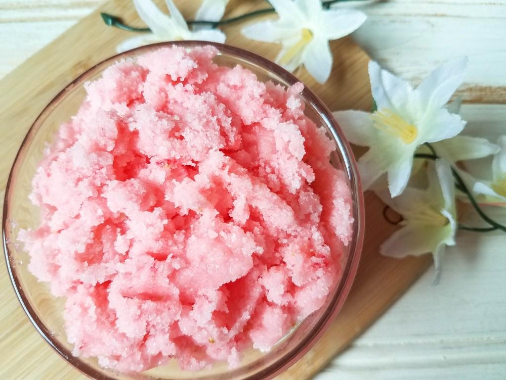 Strawberry Salt Scrub