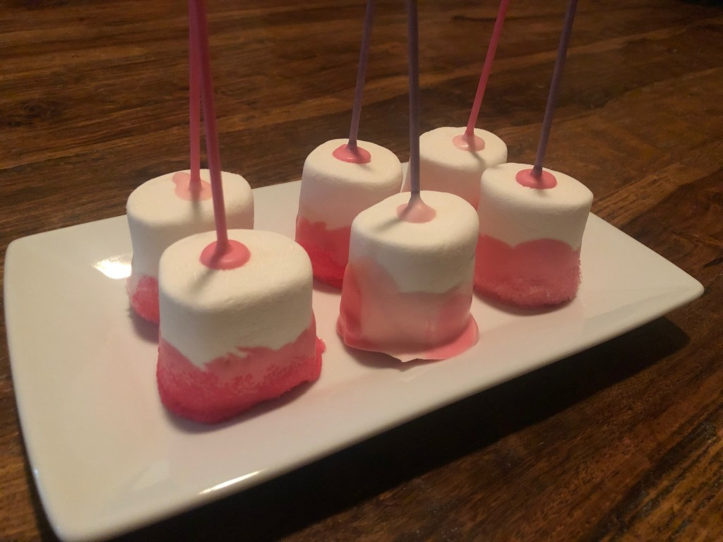 Pink Marshmallow Treats