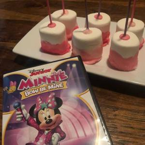 Minnie Bow BE Mine and Marshmallows