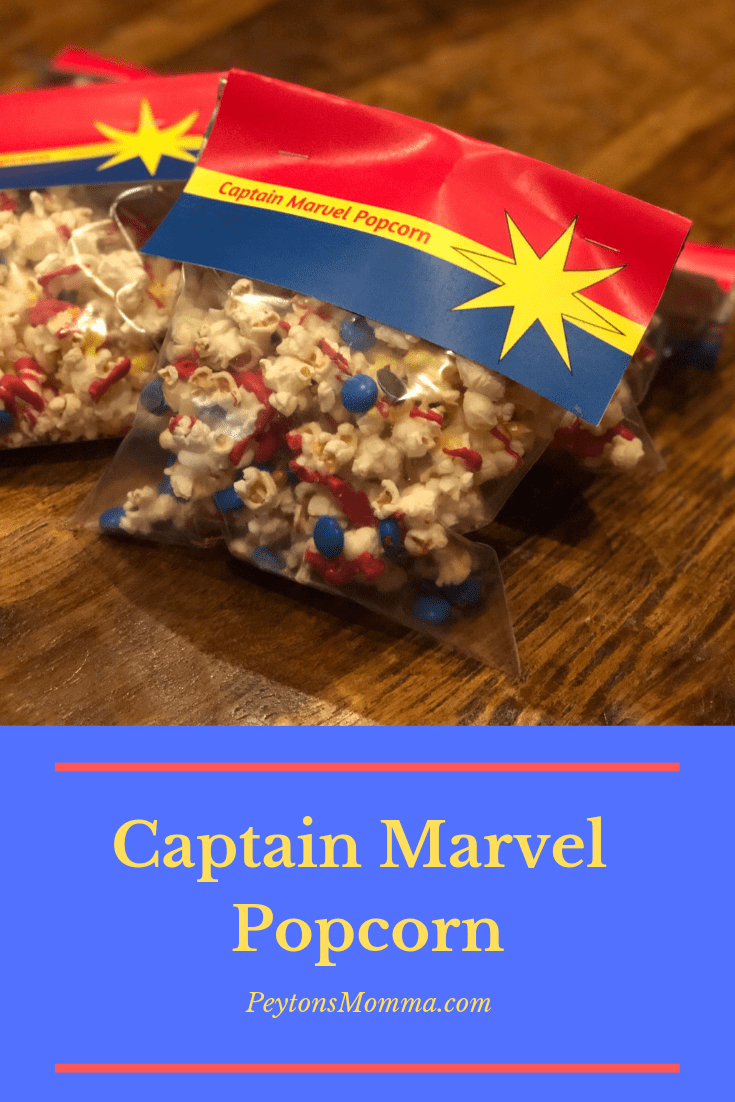 Captain Marvel Popcorn