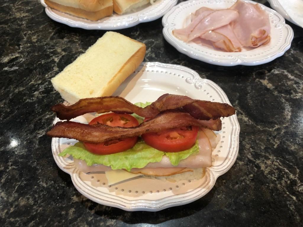 Snoopy Golf Club Sandwich