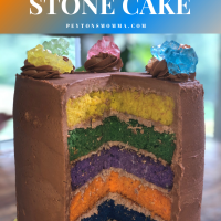 Avengers Endgame Infinity Stone Cake