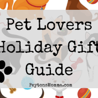 Pet Lovers Holiday Gift Guide