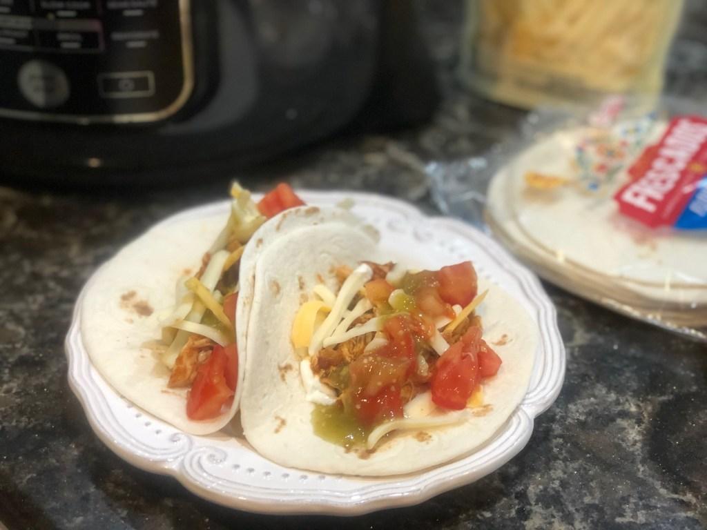 Ninja Foodi Salsa Chicken Tacos Peyton S Momma