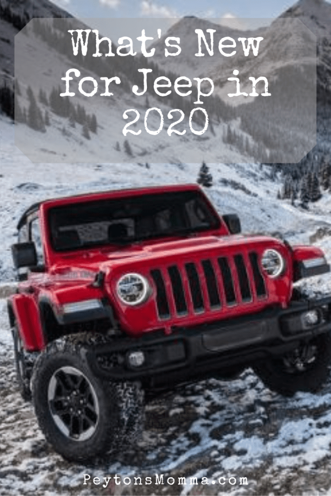 New for Jeep in 2020