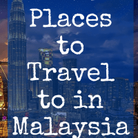Best Places to Travel to in Malaysia