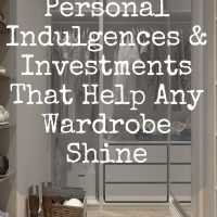 Personal Indulgences & Investments That Help Any Wardrobe Shine