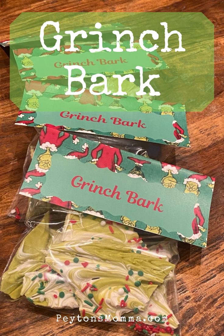 Grinch Bark - Peyton's Momma™