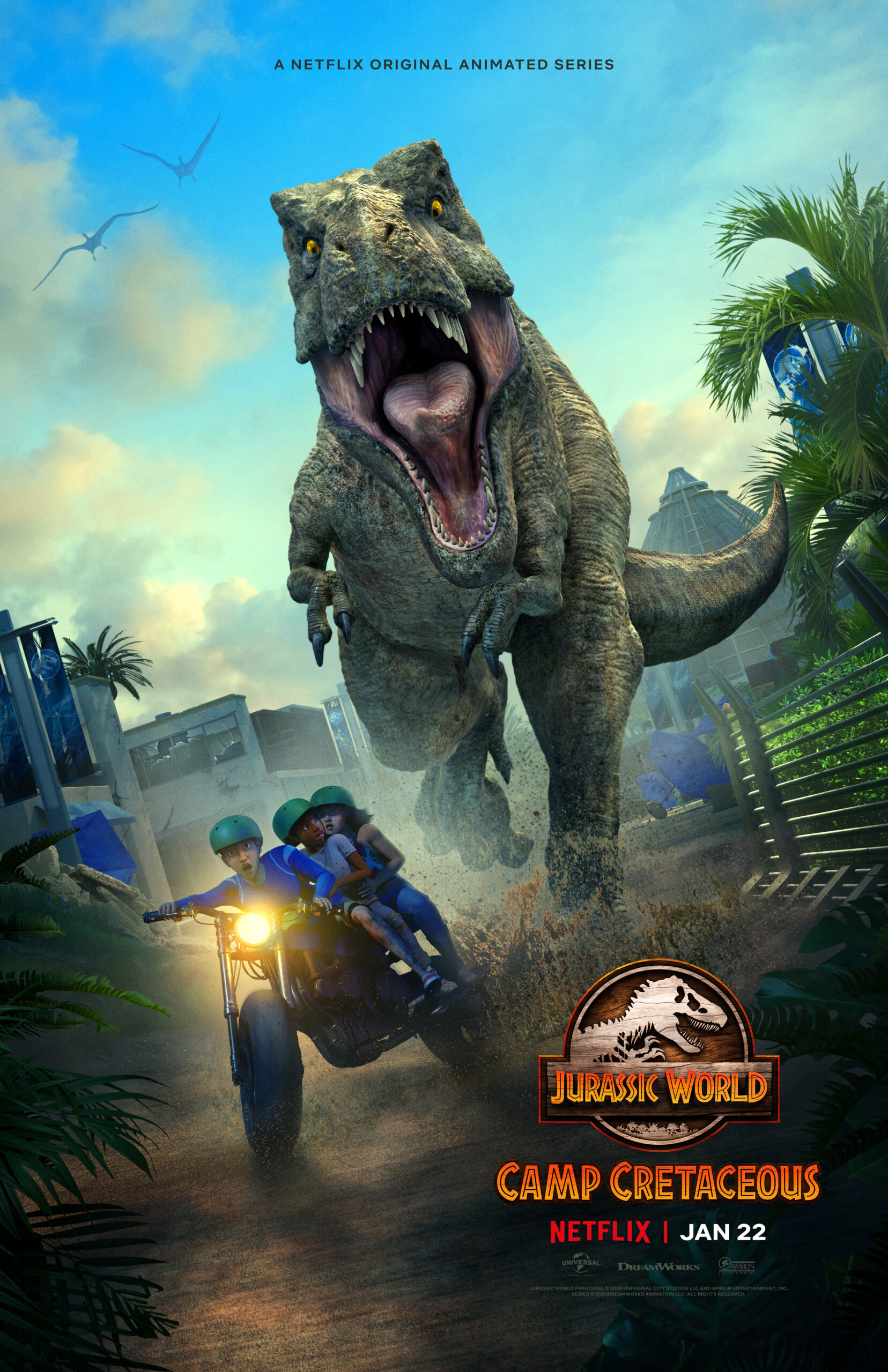 JURASSIC WORLD: CAMP CRETACEOUS SEASON TWO DEBUTS ON NETFLIX JANUARY 22 - Peyton's Momma™