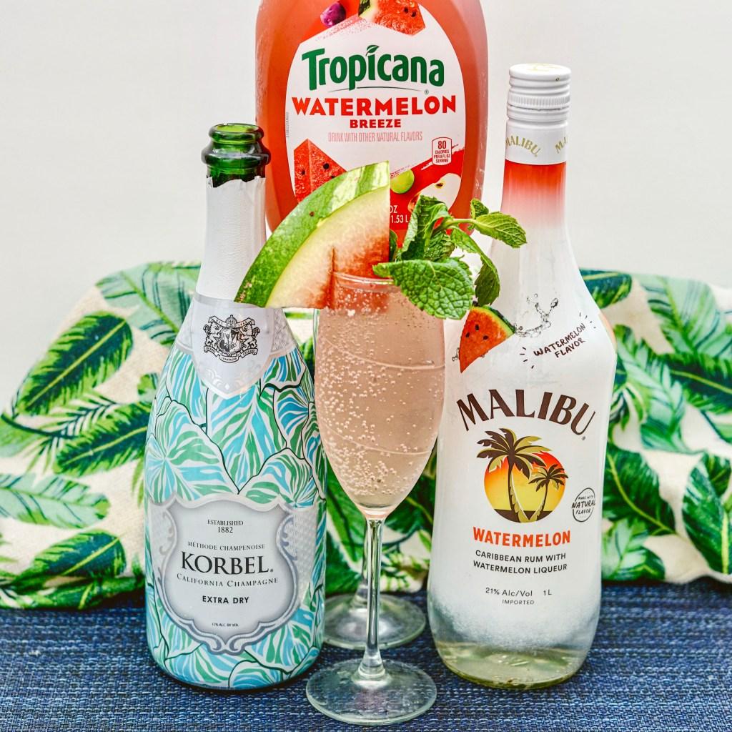 Sparkling Watermelon Refresher