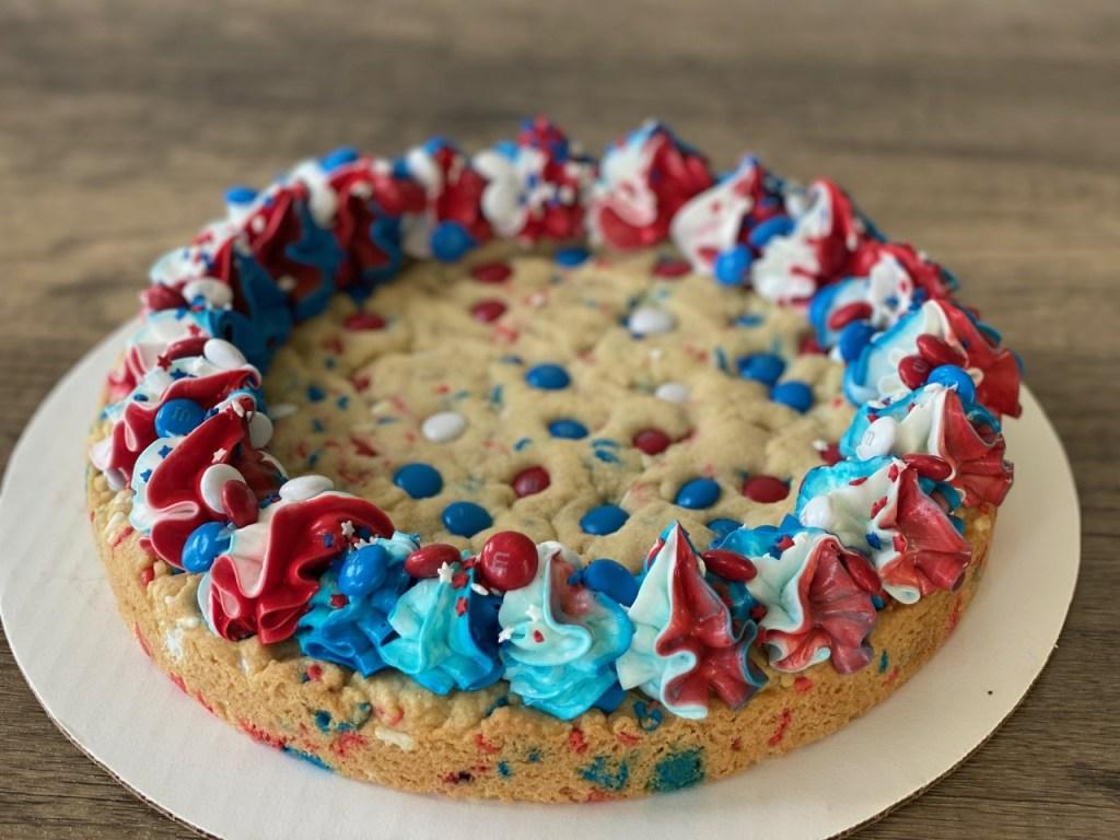 Giant Cookie Giant Patriotic Sugar Cookie