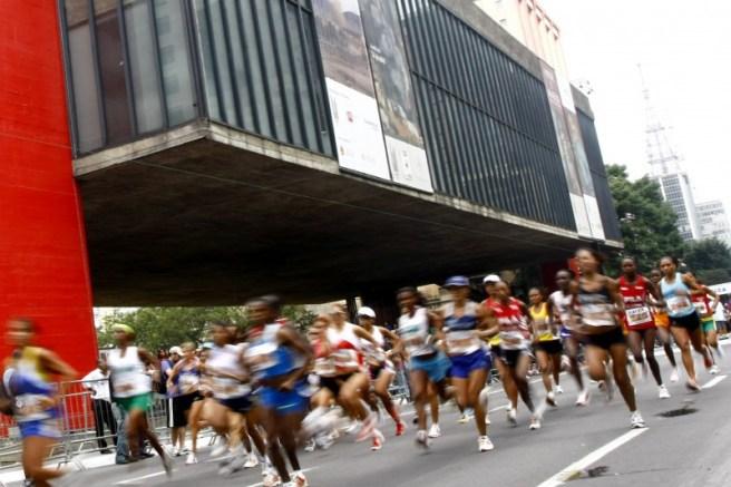 Corrida de São Silvestre. Foto: Rubens Chiri