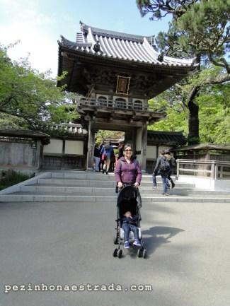 Entrada do Japanese Tea Garden, Golden Gate Park