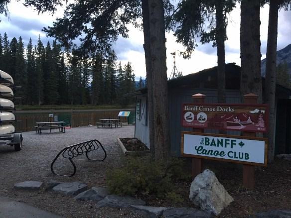 Passeio por Banff no fim da tarde