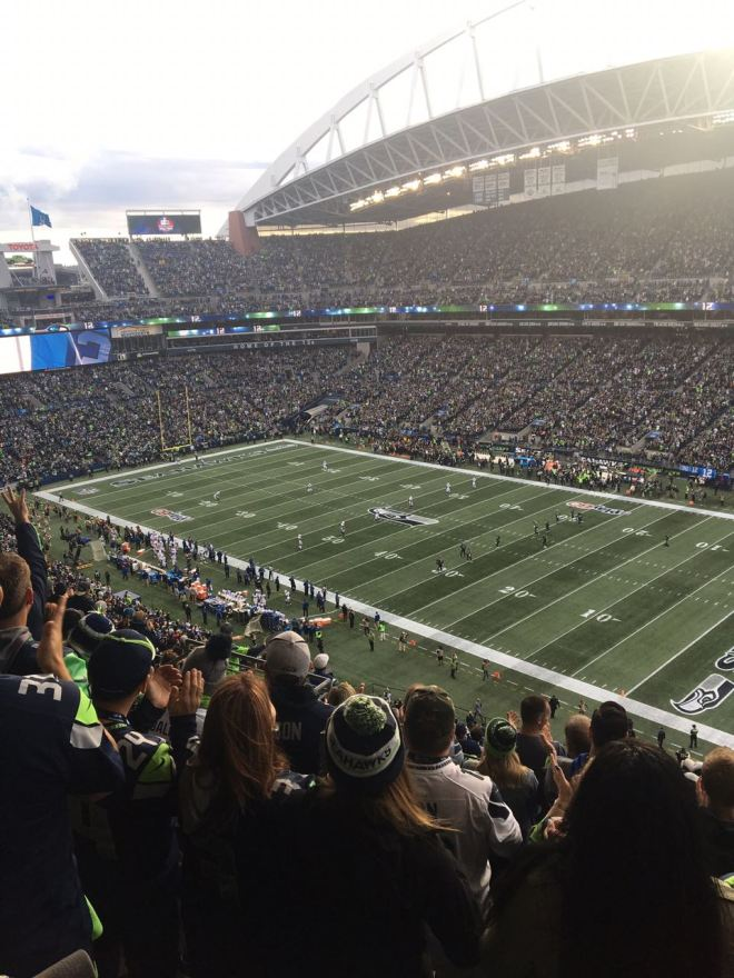 Jogo dos Seattle Seahawks