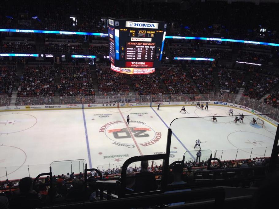 Honda Center, casa dos Anaheim Ducks
