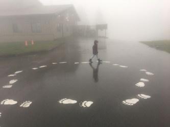 Passeando nas nuvens, como disse a Bela.