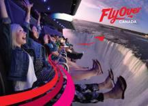 Como lá dentro não pode fazer fotos, nem filmar, peguei essa foto do Fly Over Canada para vocês terem uma noção de como é o simulador.