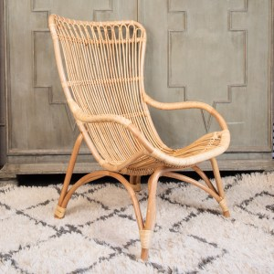 Monet High Back Chair Natural