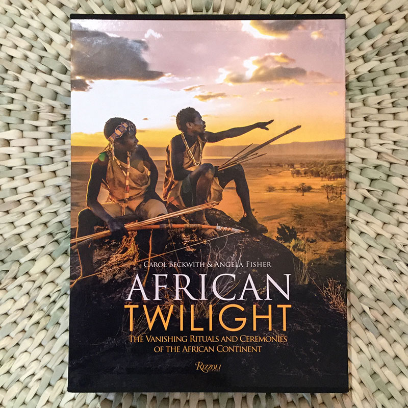 African Twilight: The Vanishing Rituals and Ceremonies of the African Continent Written by Carol Beckwith and Angela Fisher