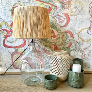 Recycled Bottle Lamp Small
