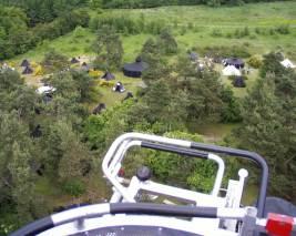 Luftaufnahme Zeltplatz