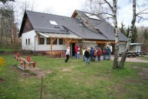 Geschichte Selbstversorgerhaus Baustelle 2001 - 2003