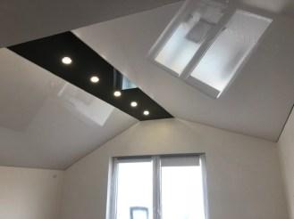 Spanndecke Dachgeschoss