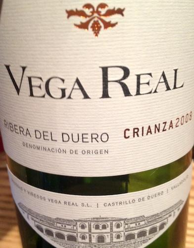 Vega Real Crianza