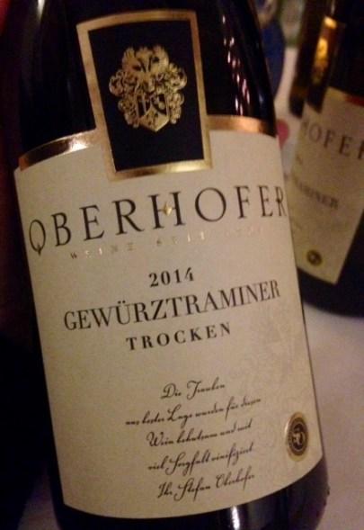 2014 Gewürztraminer trocken, Oberhofer