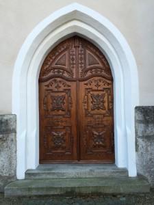 Nordportal der Wallfahrtskirche Aufkirchen