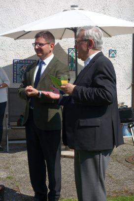 Dank und Glückwünsche von Pfarrer Wandachowicz