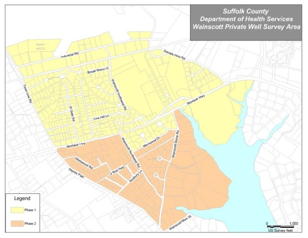 scdhs-wainscott-private-well-survey-areas