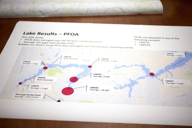 Greensboro, NC works on its PFOS problem as evidence of harm grows