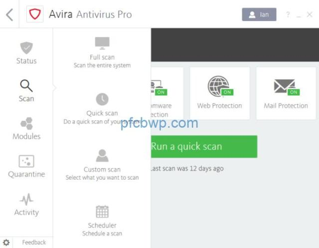 Avira Antivirus Pro 15.0.1906.1389 Serial Key Full Crack