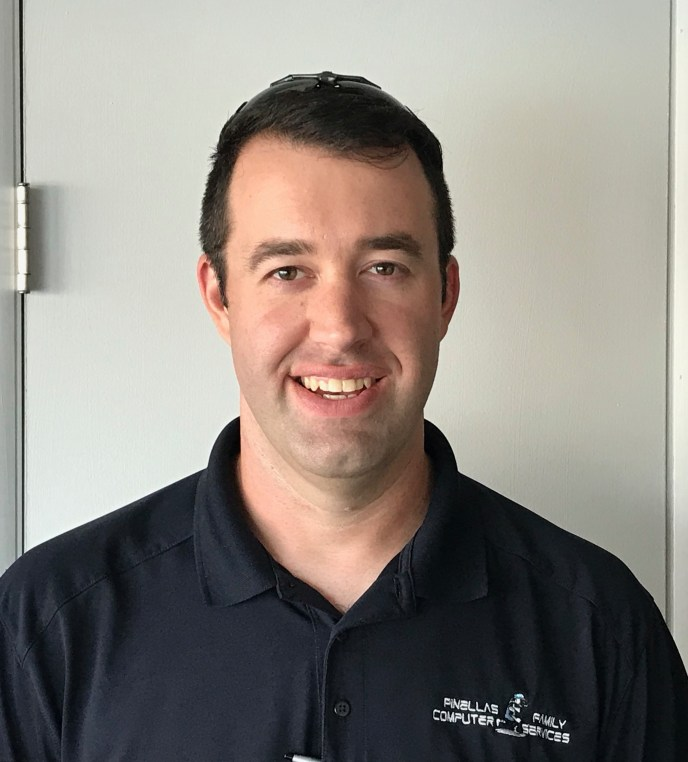 A photo of Steve Johnson, PC Technician